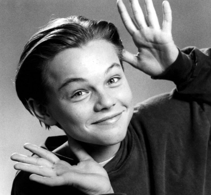 Young Leo. Omg so cuuute.