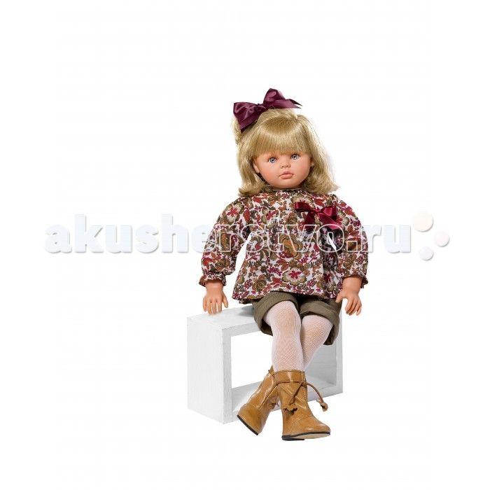 ASI Кукла Пепа 60 см 283400  ASI Кукла Пепа 60 см 283400 просто красавица - является воплощением всех детских фантазий.   Кукла большая.Но при этом невероятно легкая и пластичная. Она принимает естественные положения. Сидит в коляске и на стульчике. У Пепы шикарные светлые волосы, уложенные в аккуратные кудри. Делать прически этой кукле - сплошное удовольствие! Волосы, как натуральные, мягкие и блестящие, не путаются, потому, что содержат всего 50% синтетики!   Пепа выглядит очень красиво в…