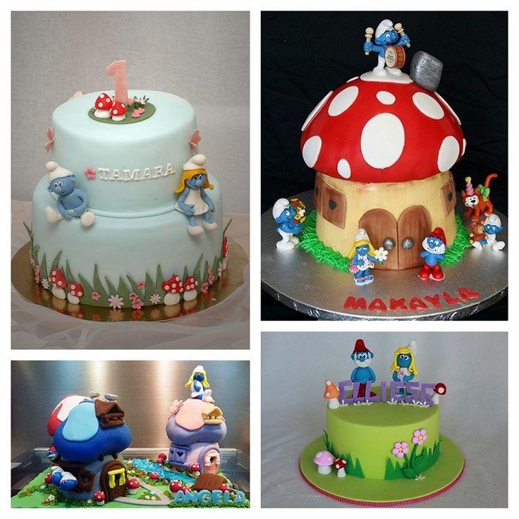 smurfs birthday party | smurf birthday party ideas and inspiration | Make Create Do