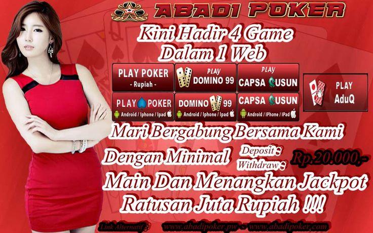 Agen Poker Online - 4 Game dalam 1 ID