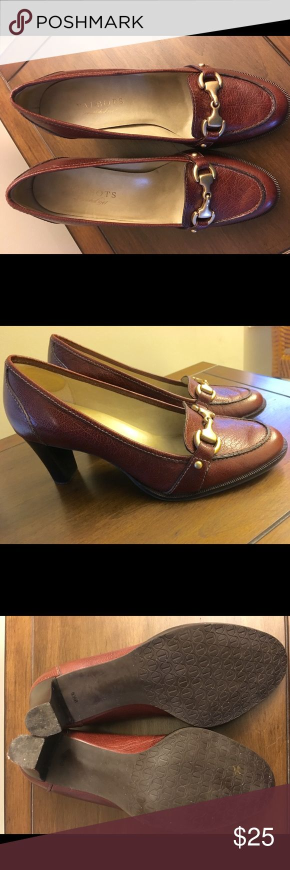 Talbot Brown Pumps Classy brown pump that can be dressed up with a professional suit or dressed down with a chic pair of jeans. Talbots Shoes Heels