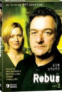 Claire Price and Ken Stott of Rebus, UK TV show made from Ian Rankin's books
