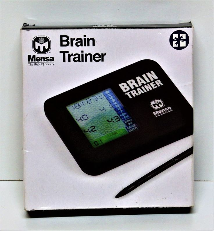 MENSA BRAIN TRAINER ELECTRONIC GAME HIGH IQ FOR REGULAR MENTAL ACTIVITY    eBay