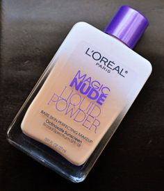 Magic nude liquid powder: If your looking for a drugstore foundation I highly recommend this one, It feels very light weight on the skin but has a really nice full coverage.
