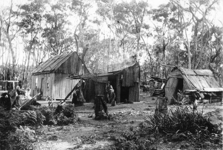 Early settlers in Bundanoon, NSW in the late 1860's . v@e