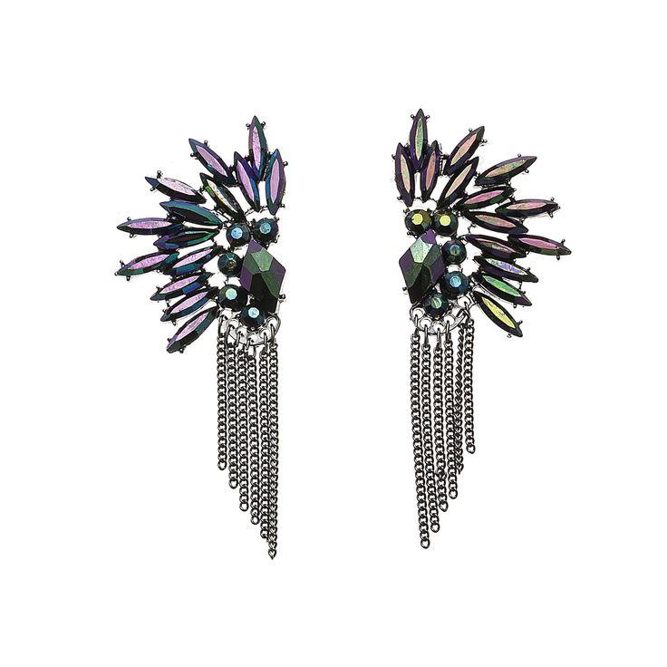 diva collection of petroleum #earings #studs #Fashion #trend #Accessories #purple #silver #petrolium #green #bright #beauty #shop #autumn #winter #ear #multi #woman #fashionwoman  #blue #NEW #party #accessoriseforeneni
