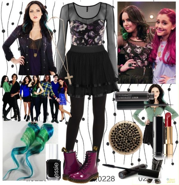 """Jade West outfit - Victorious: Tori Goes Platinum!"" by novelas-one-direction ❤ liked on Polyvore"