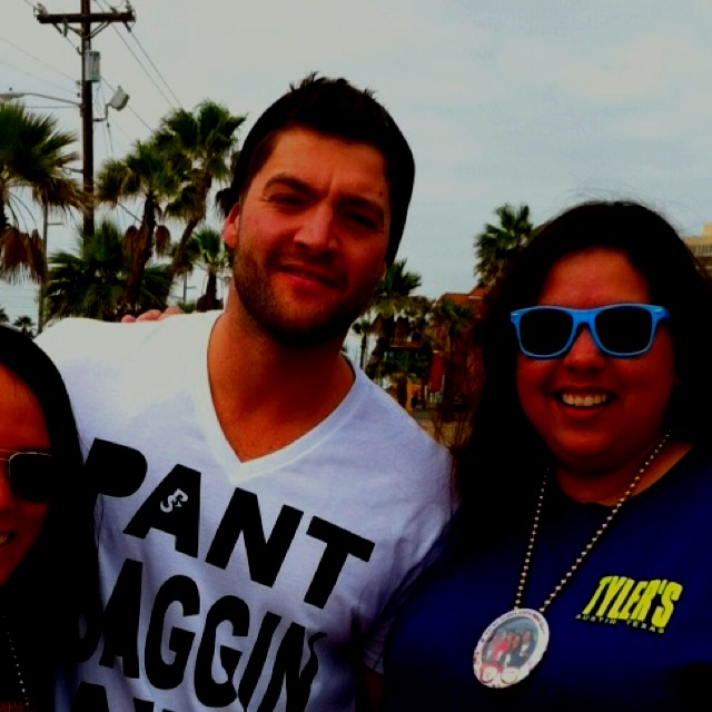 CT from Real World Spring Break 2012  South Padre Island TX I really hope to see some real world people!