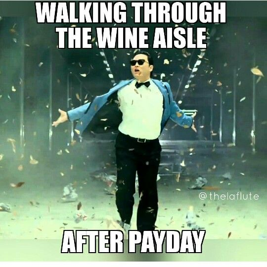 Wine pay day