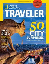 National Geographic Traveller magazine available to checkout and read on on your computer, smartphone or tablet #travel #magazines #zinio