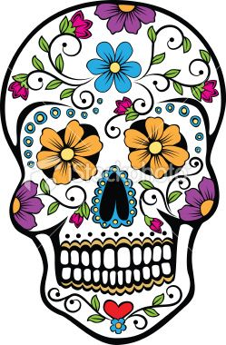 Day of the dead graphics: Tattoo Ideas, Pink Flowers, Sugar Skull Tattoo, Back Tattoo, Of The, A Tattoo, Skull Art, Dead, Day