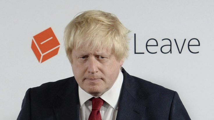 Post-Brexit, U.K. favorite for prime minister is Trump-Lite on climate change.   Former London Mayor Boris Johnson isn't exactly a climate denier. But he's something.