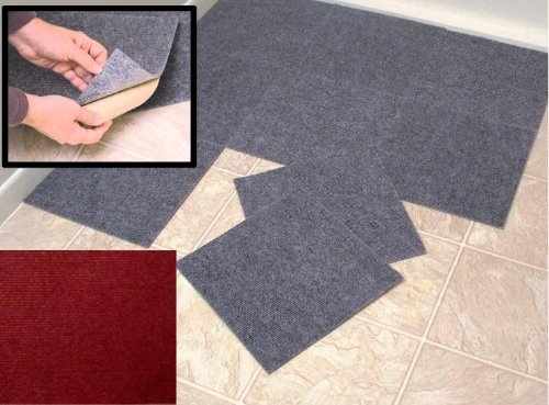 peel and stick carpet tiles http procarpetsupply peel and stick burgundy berber 29049