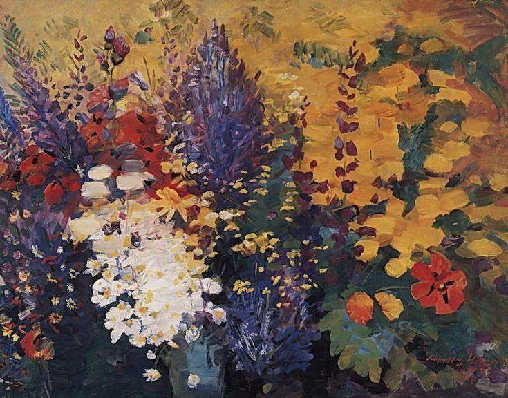 1947 Майские цветы. Х., м. 73х92 МС - Сарьян Мартирос Сергеевич