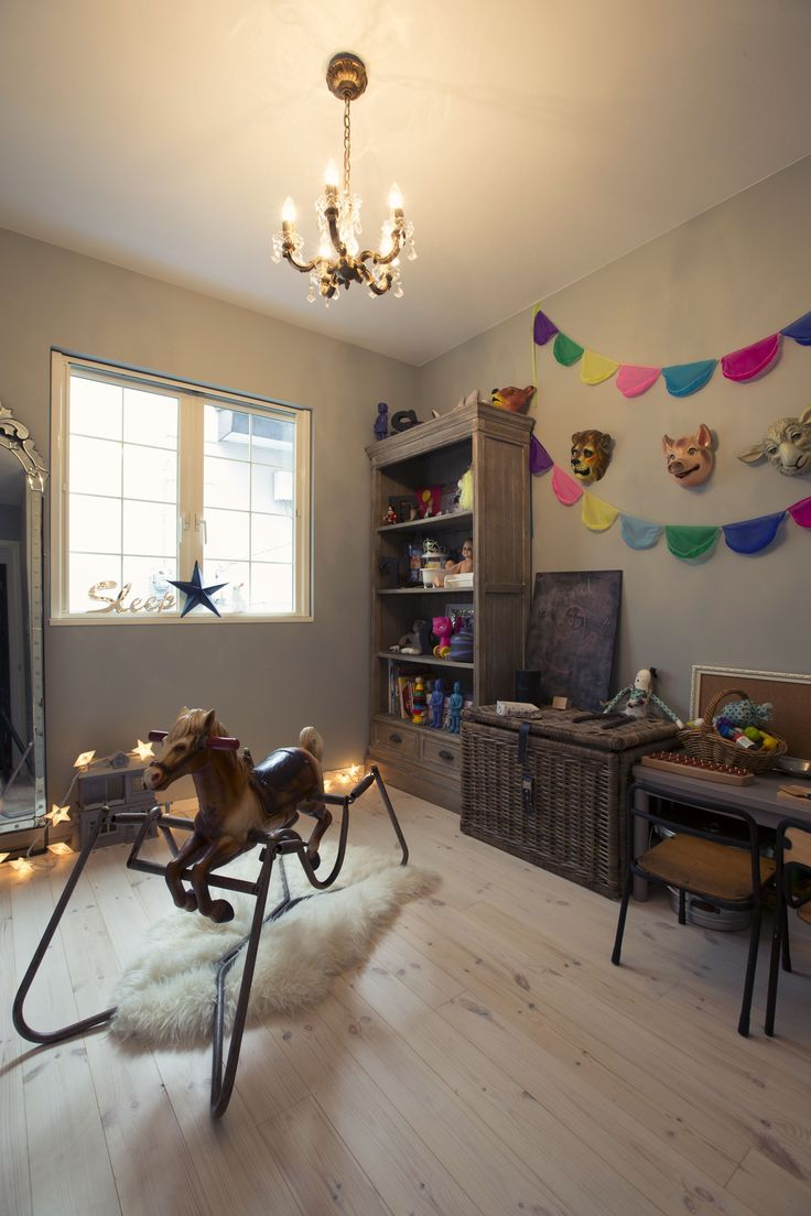 French Modern & Antique / kids room