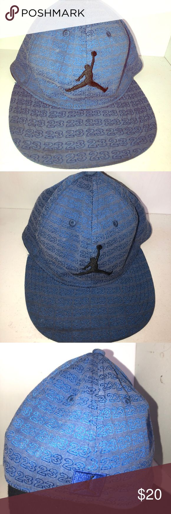 Jordan hat Jordan hat color blue Jordan Accessories Hats