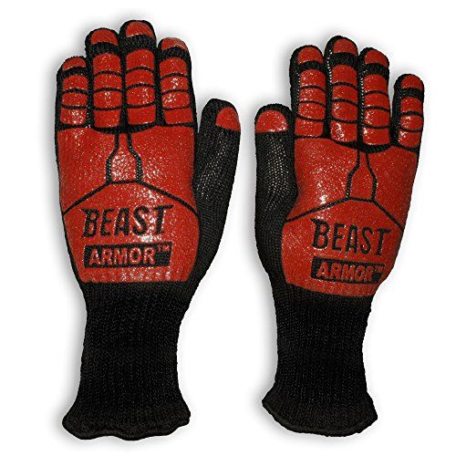 Grill Beast BBQ Grilling Cooking Gloves - Heat Resistant Kevlar & Silicone Insulated Protection - Smoker and Kitchen Accessories Grill Beast http://www.amazon.com/dp/B00T3NZXIE/ref=cm_sw_r_pi_dp_fJqFvb1G8PNHX