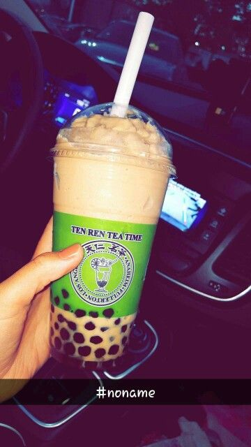 "Favorite Tea/coffee Boba  house! My to-go to drink is call ""no name in Tea"".  Ten Ren's Tea Time in Anaheim, CA"
