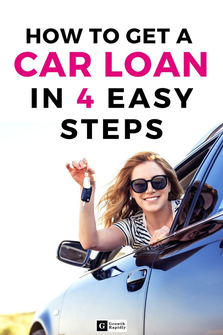 How To Get A Car Loan In 5 Easy Steps Growthrapidly Car Loans Car Loans Finance Loans For Bad Credit