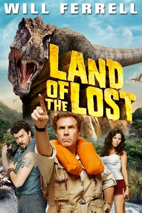 Land of the Lost (2009) Movie Poster - Will Ferrell, Danny McBride, Anna Friel…