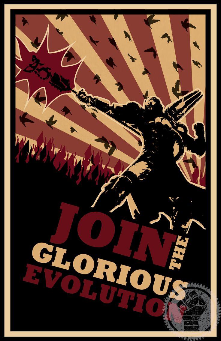 Stylistic Viktor Poster by SilversPropaganda.deviantart.com on @DeviantArt