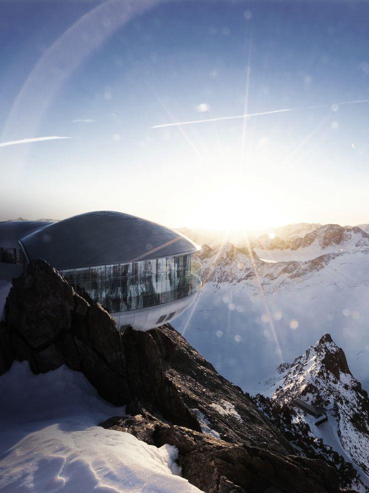 Café 3.440 – Austria's Highest Coffee Bar, Pitztal Glacier