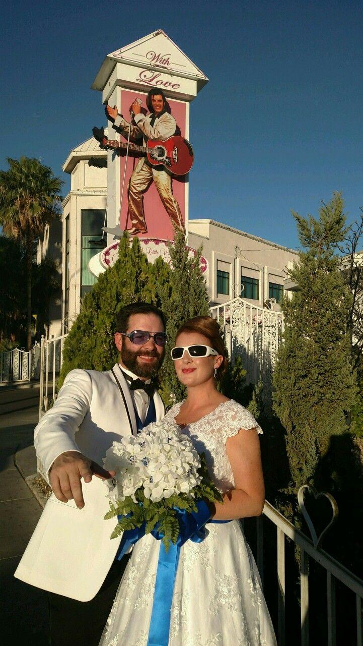 15th Anniversary vow renewal Elvis wedding, Las vegas