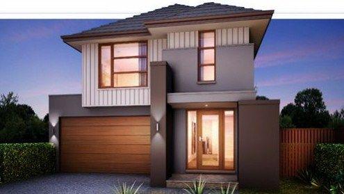 Fachadas de casas modernas con segundo piso