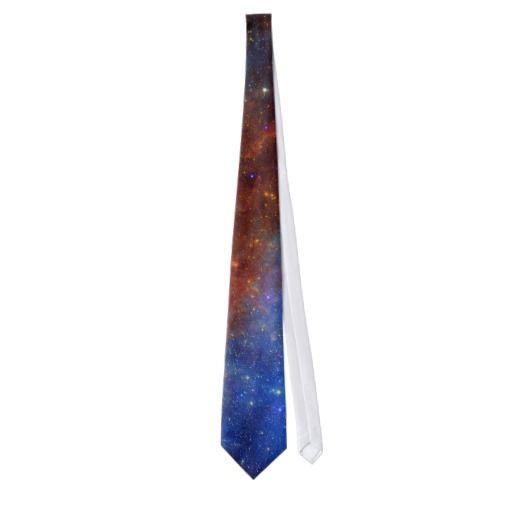 NASA North American Nebulae mens tie