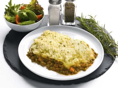 Gluten Free Rustic Lentil and Vegetable Cottage Pie