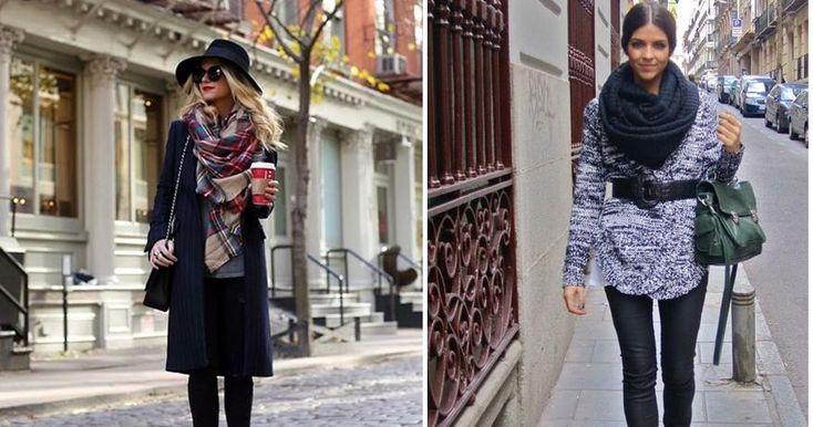 9 formas de lucir tu bufanda con mucho estilo, ¡no te lo pierdas!
