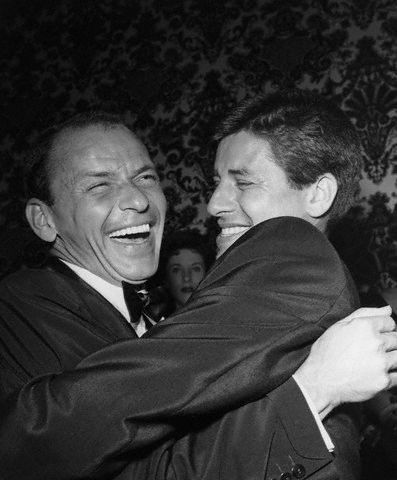 Frank Sinatra and Jerry Lewis