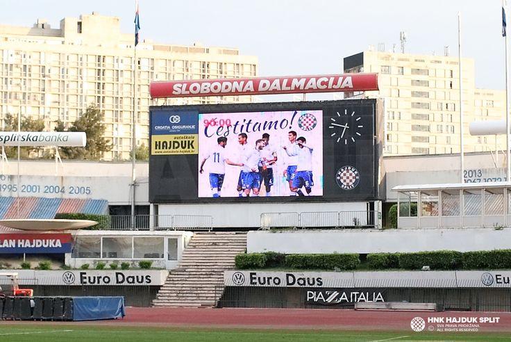 Hajduk II osvojio naslov prvaka! • HNK Hajduk Split