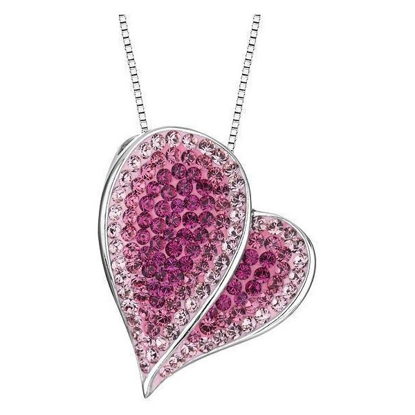 Perfect for Valentine's Day! Pink And Light Rose Swarovski Crystal ...