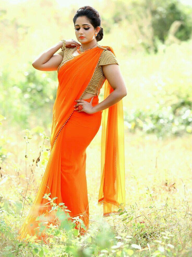 Pin by Sheeba Thomas on Blouses | Saree, Indian beauty ...