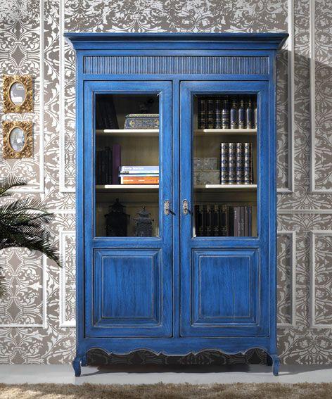 Vitrina 2 puertas Vintage Provenzal - Cabinet Vintage Provenzal with 2 doors