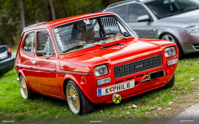 Fiat 127 Worthersee Motorized Voitures Retro Voiture Tuning