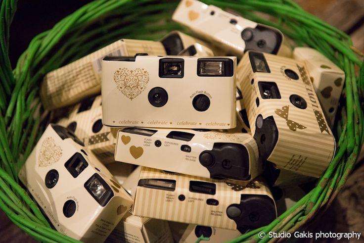 #disposablecameras #cameras #wedding #reception #athens #greekwedding #weddingplanner #dreamsinstyle