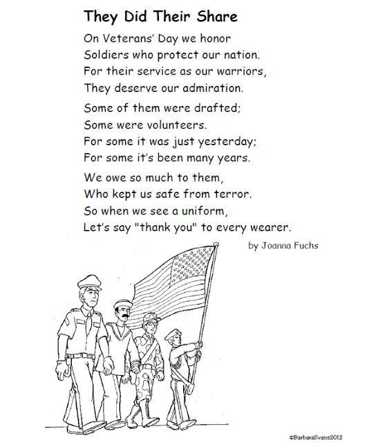 Veterans Day Poem