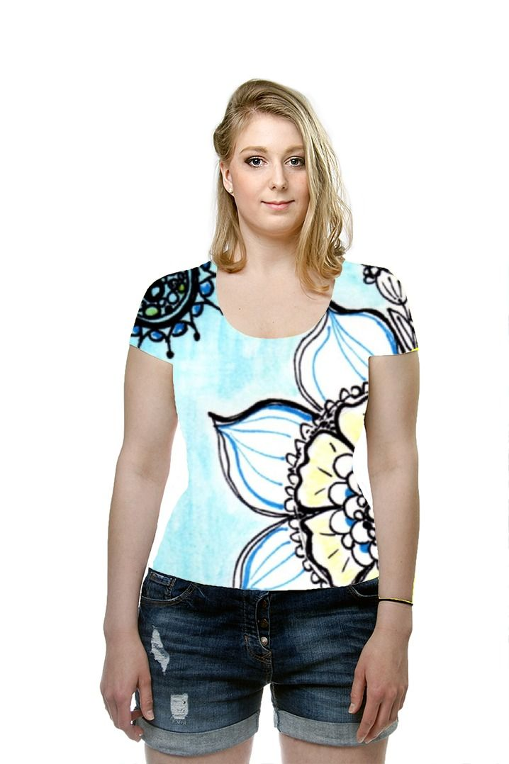 By valeria polledro. All Over Printed Art Fashion T-Shirt by OArtTee