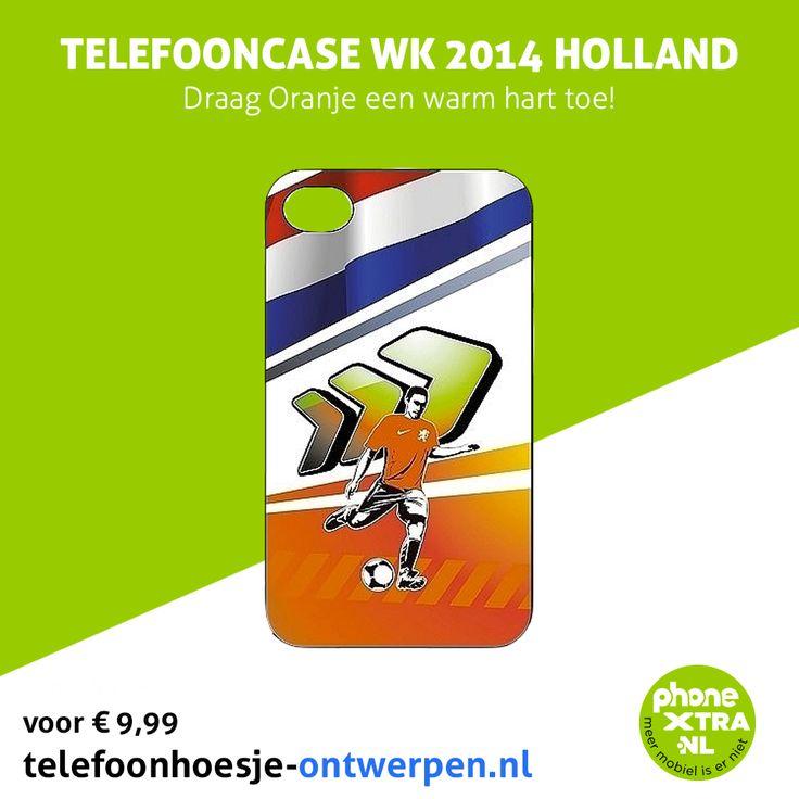 Draag Oranje een warm hart toe met een mooie telefoonhoes voor het WK! Je kunt zelf een hoes ontwerpen of een van onze ontwerpen kiezen.  Wil je ook zo'n mooie hoes of wil je er zelf een ontwerpen? Ga dan naar onze webshop: http://www.telefoonhoesje-ontwerpen.nl/telefooncase-wk-2014-holland