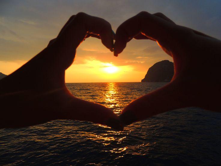 #sunset#love#  Koh Phi Phi Lee @ Thailand