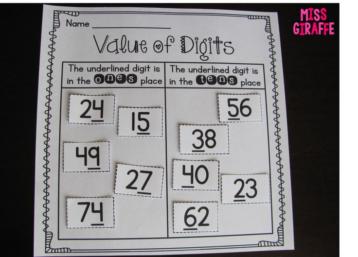 132 best Place Value images on Pinterest Math activities, 100 - place value worksheet
