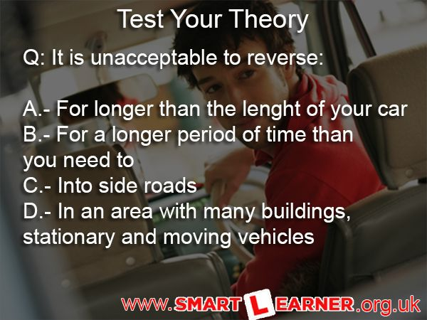 #Mock #Theory #Test  Test if you are ready to take your theory test. More free theory questions by Smartlearner Driving School available @ http://www.smartlearner.org.uk/free-theory-test/ — in Coventry, England, United Kingdom.
