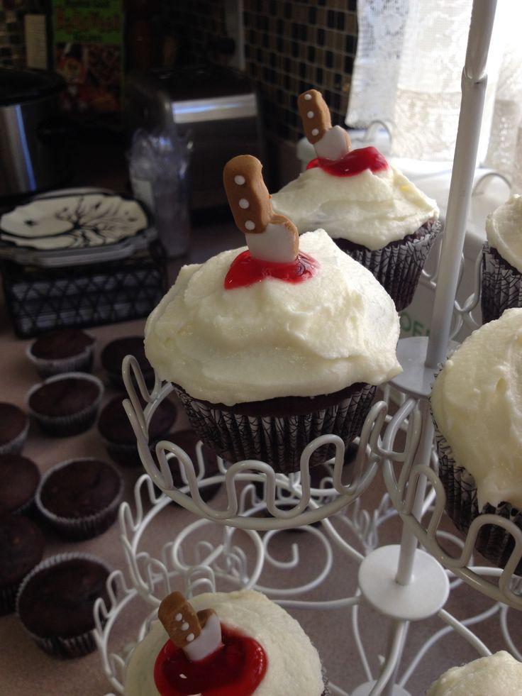 Bloody cupcake