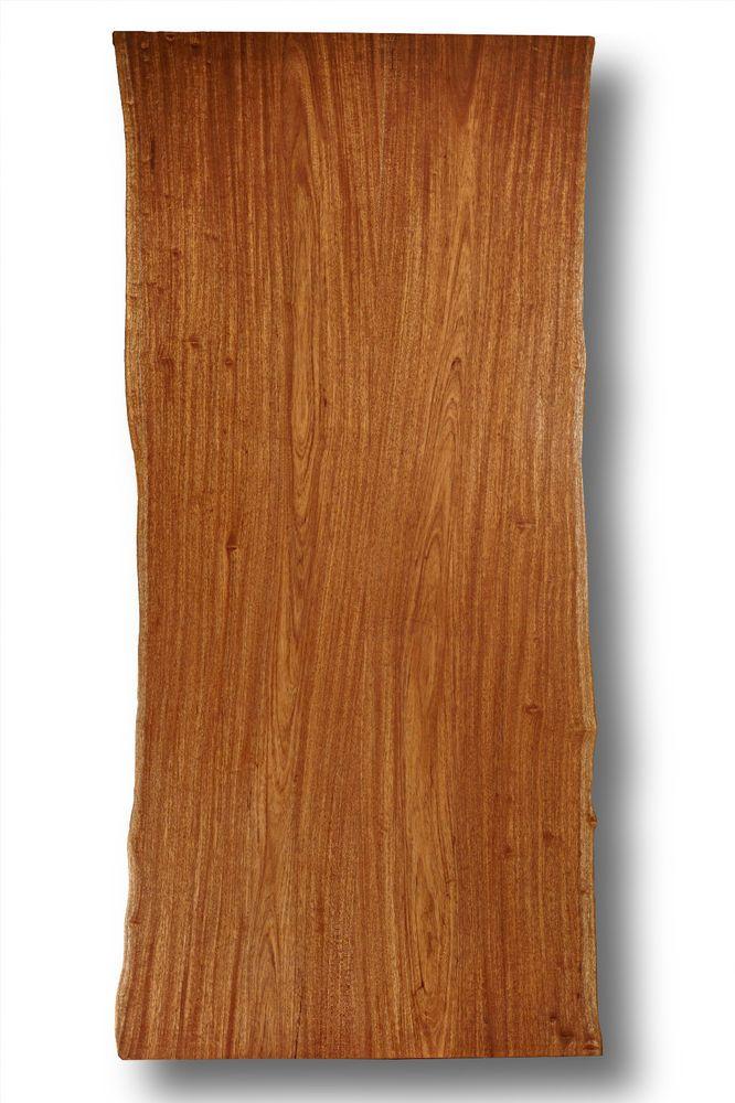 Tischplatte Massivholz Baumkante ~ Niangon Mahagoni Massivholz Tischplatte NaturBaumkante Schreibtisch
