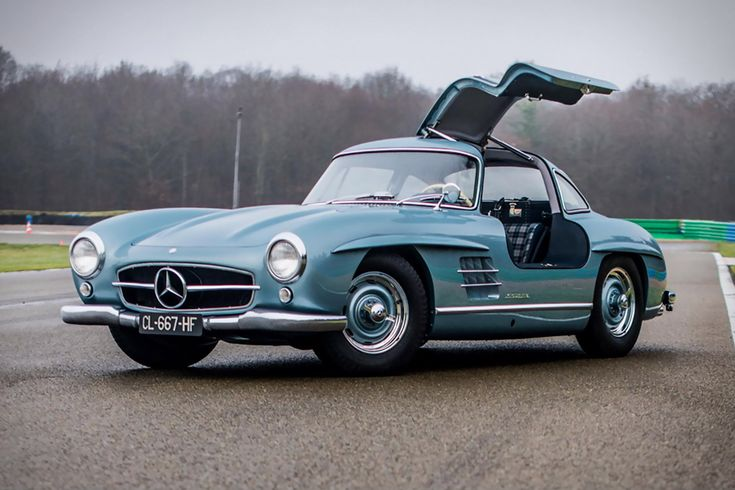 Recently restored to showroom condition via an exhaustive 6,000-hour process, this 1954 Mercedes Benz 300 SL Gullwing is desirable both for its history and its lineage. Purchased in 1957 from its original owner by film icon Paul Newman, it remained...