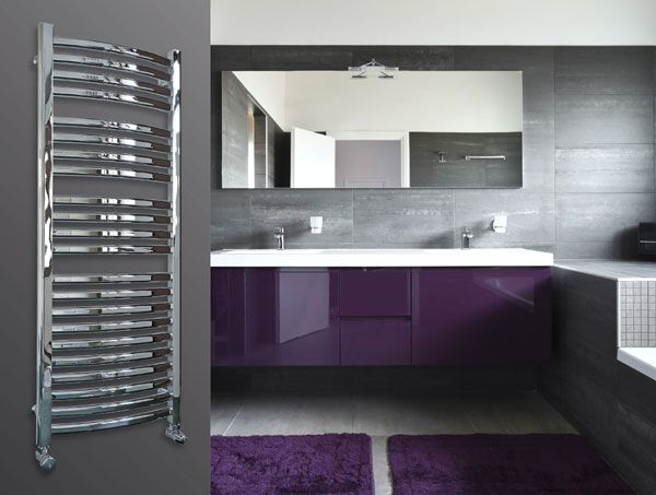The Myson Ferlo (previously called Aloha) is a chrome curved multirail towel warmer. The Ferlo is finished in a polished chrome and is also available with dual fuel for summer heating. 10 Year Warranty. Prices from £817.03!