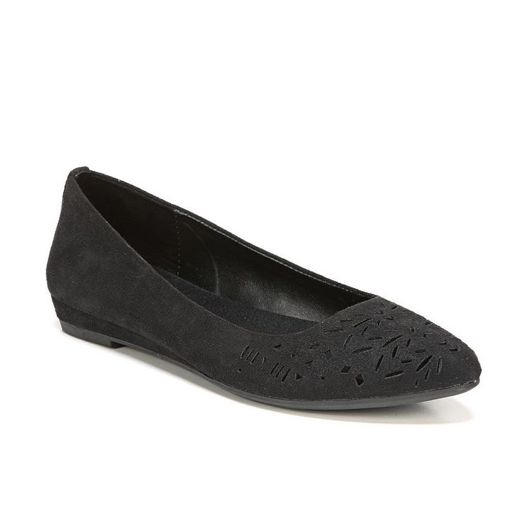 Fergalicious Alisha Women's Ballet Flats, Size: 6.5, Black