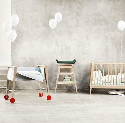 Cool alert! Linea by Leander: Simple, Modern Baby Furniture